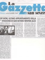 BOP NOW! San Severo Jazz Winter