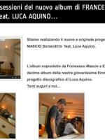 Terminate le sessioni del nuovo album di FRANCESCO MASCIO Sarasvātrio feat. LUCA AQUINO…