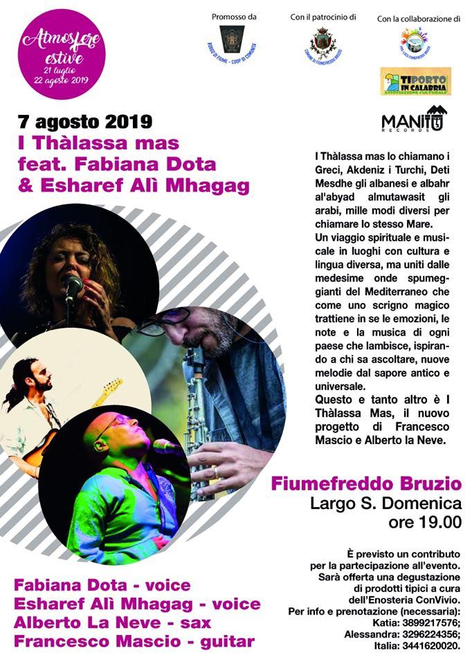 I Thàlassa Mas feat. Fabiana Dota & Esharef Alì Mhagag