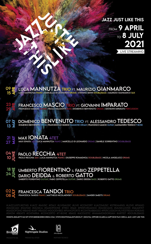 Domenico Benvenuto Trio feat. Alessandro Tedesco